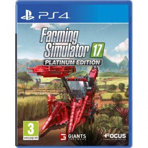 Farming Simulator 17 Platinum Edition PS4