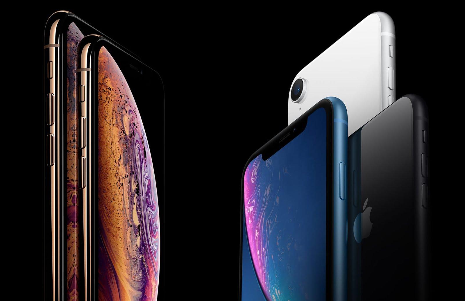 iPhone Xs e Xr