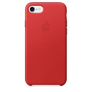 APPLE IPHONE 7 LEATHER CAS RED MMY62ZMA