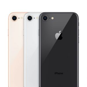 iPhone 8 Gold, Silver and Space Gray