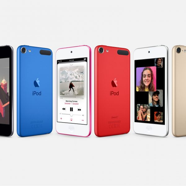 iPod touch (7th generation) Space Gray, Blue, Pink, Red, Silver and Gold