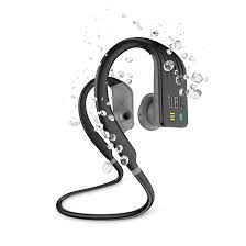 JBL WIRELESS IN-EAR HEADPHONES ENDURANCE DIVE 1GB BLACK