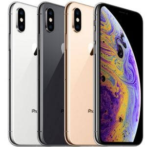 iPhone Xs Max Silver, Space Gray and Gold
