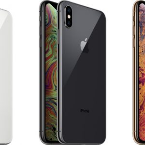iPhone Xs Silver, Space Gray and Gold