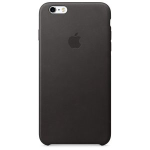 iPhone 6s Plus Leather Case Black