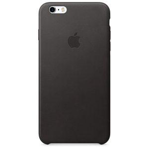 iPhone 6s Plus Leather Case Black