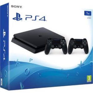 Consola-Sony-PS4-1TB-2-Sony-Comando-DualShock-4-Black-PS4