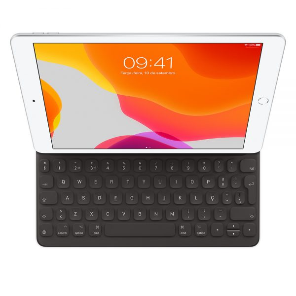 iPad (7th generation) and iPad Air (3rd generation) Smart Keyboard PT (top view)