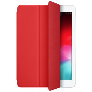 iPad Smart Cover Red open