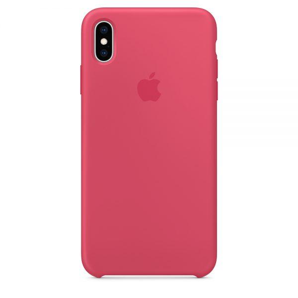 iPhone Xs Max Silicone Case Hibiscus