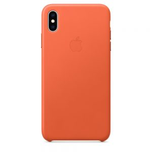iPhone Xs Max Leather Case Sunset