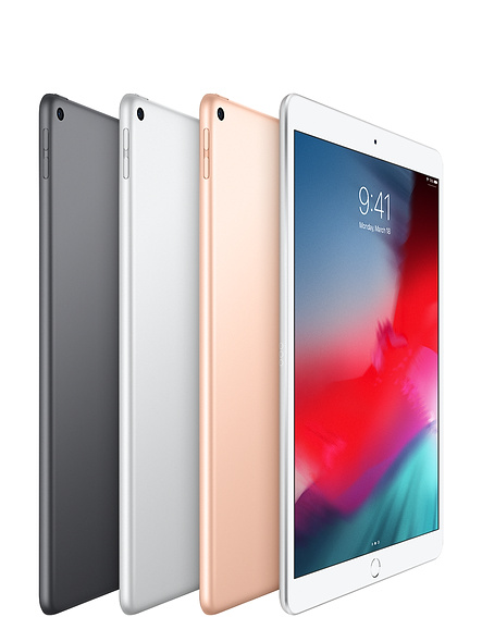 iPad Air Space Gray, Silver and Gold