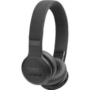 JBL WIRELESS ON-EAR HEADPHONES LIVE 400BT BLACK