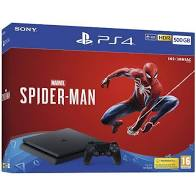 Consola ps4 slim 500gb + Jogo spider-men