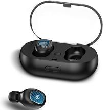 DEVIA JOYPODS SERIES DUAL-EARPHONE TWS WIRELESS EARPHONE BLACK