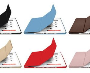 BookStand iPad 10.2 (7th generation) Black, Blue, Brown, Gold, Red and Rose