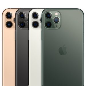 iPhone 11 Pro Gold, Space Gray, Silver and Midnight Green