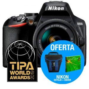 NIKON D3500 + AF-P DX 18-55mm