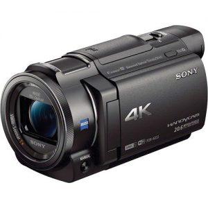 SONY Handycam 4K HDR FDR-AX33 BLACK