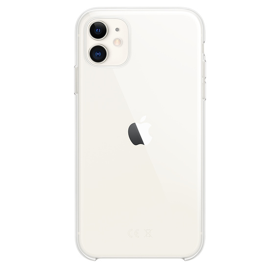 iPhone 11 Clear Case (iPhone 11 White)