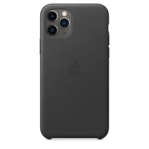 iPhone 11 Pro Leather Case Black