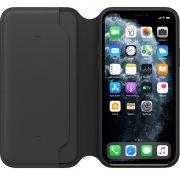 iPhone 11 Pro Leather Folio Black (opened)