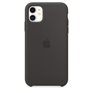 iPhone 11 Silicone Case Black