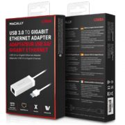 MACALLY USB 3.0 TO GIGABIT ETHERNET ADAPTER