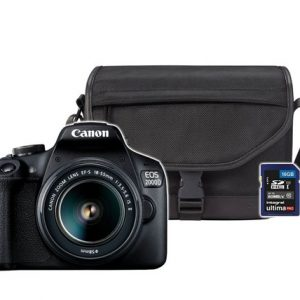 CANON EOS 2000D EF-S 18-55mm IS II TRAVEL KIT