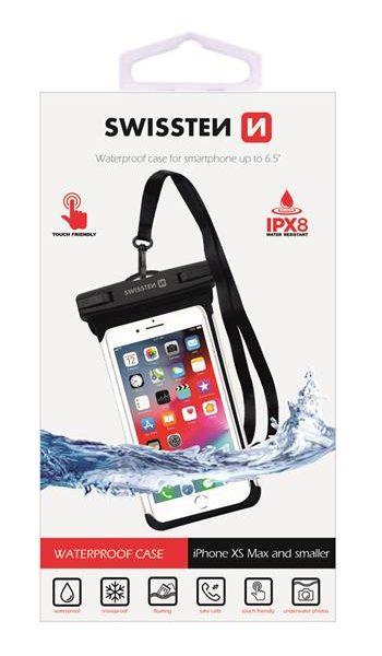 SWISSTEN Waterproof Case 6.5″ Black