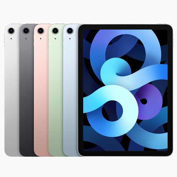 iPad Air Silver, Space Gray, Rose Gold, Green and Sky Blue
