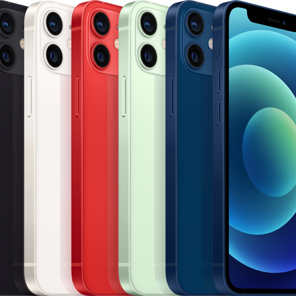 iPhone 12 mini Black, White, Red, Green and Blue