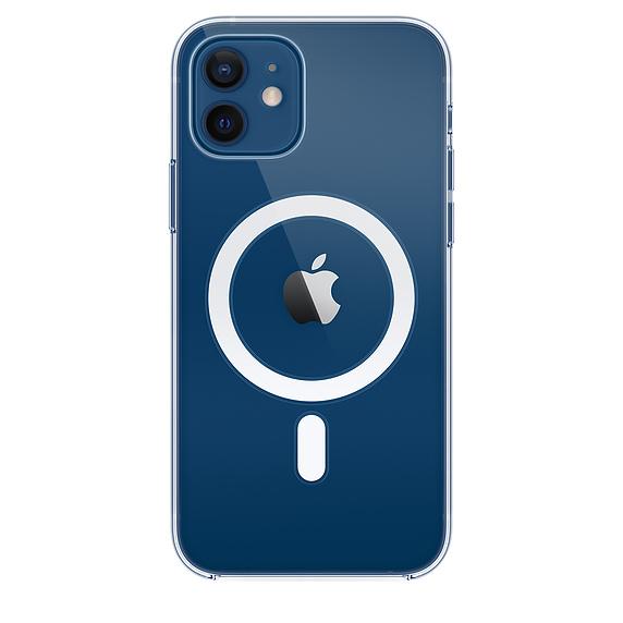 Capa transparente com MagSafe para iPhone 12|12 Pro