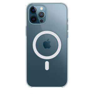 Capa transparente com MagSafe para iPhone 12 Pro Max