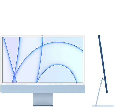"""Apple iMac 24"""" – Azul"""