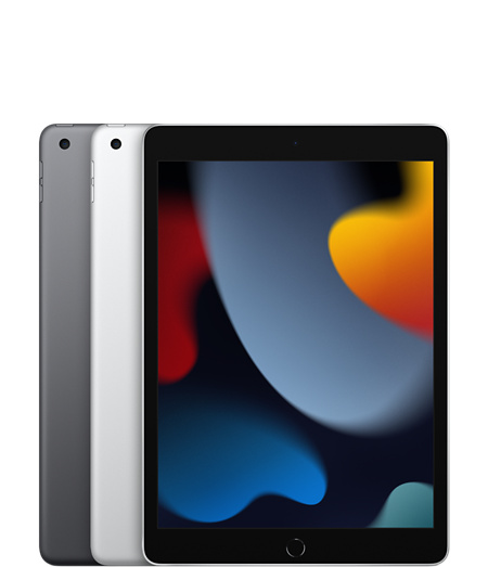 iPad (9th generation) Space Gray and Silver