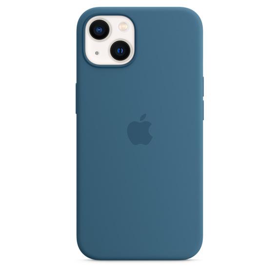Capa em silicone com MagSafe para iPhone 13 - Azul‑celeste