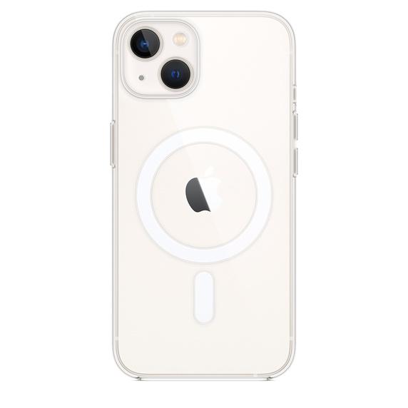 Capa transparente com MagSafe para iPhone 13
